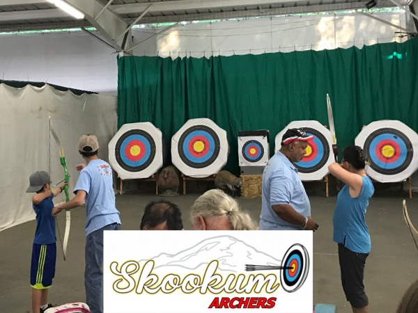 Archery Shooting with Skookum Archers